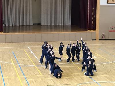 3年体育創作ダンス発表会
