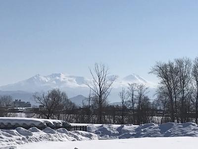 大雪連峰の山並み