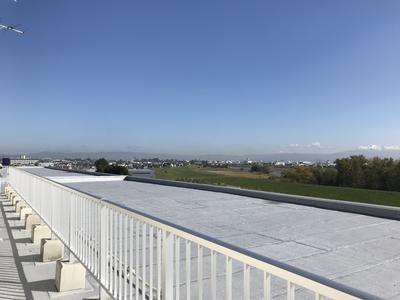 屋上防水改修工事完了